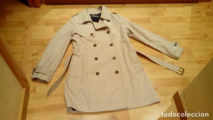 Nuevo: Gabardina de mujer Easy Wear básica con cinturón · - Foto 9 - 191846717