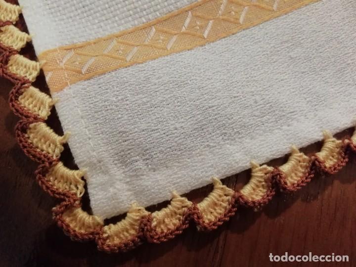 Nuevo: Dos paños de cocina decorados con hilo de algodón hecho a mano - Foto 3 - 192682223