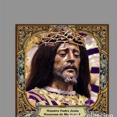 Nuevo: AZULEJO 20X20 DE NUESTRO PADRE JESÚS NAZARENO DE MEDINACELI DE MADRID. Lote 194127291