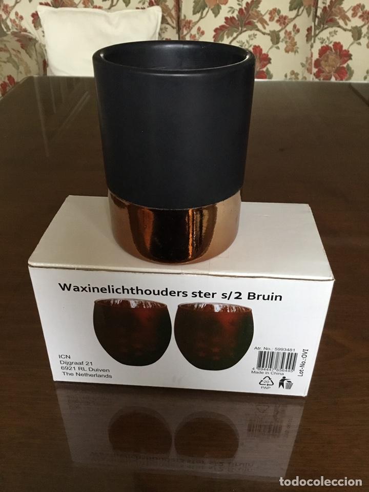 Nuevo: Dos portavelas holandeses y una vela del Primark Nuevos - Foto 4 - 195349885