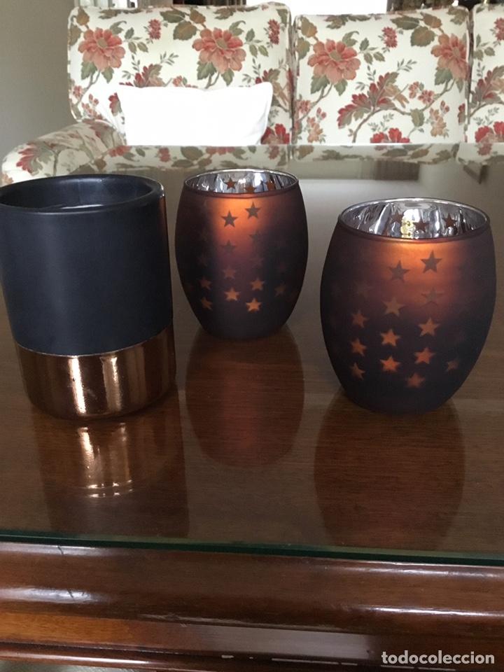 Nuevo: Dos portavelas holandeses y una vela del Primark Nuevos - Foto 2 - 195349885