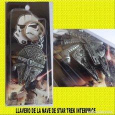 Nuevo: LLAVERO NAVE STAR WARS ** USS INTERPRISE **. Lote 195501023