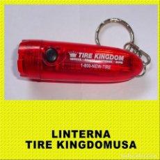 Nuevo: LLAVERO LINTERNA ** TIRE KINGDOM **. Lote 195501865