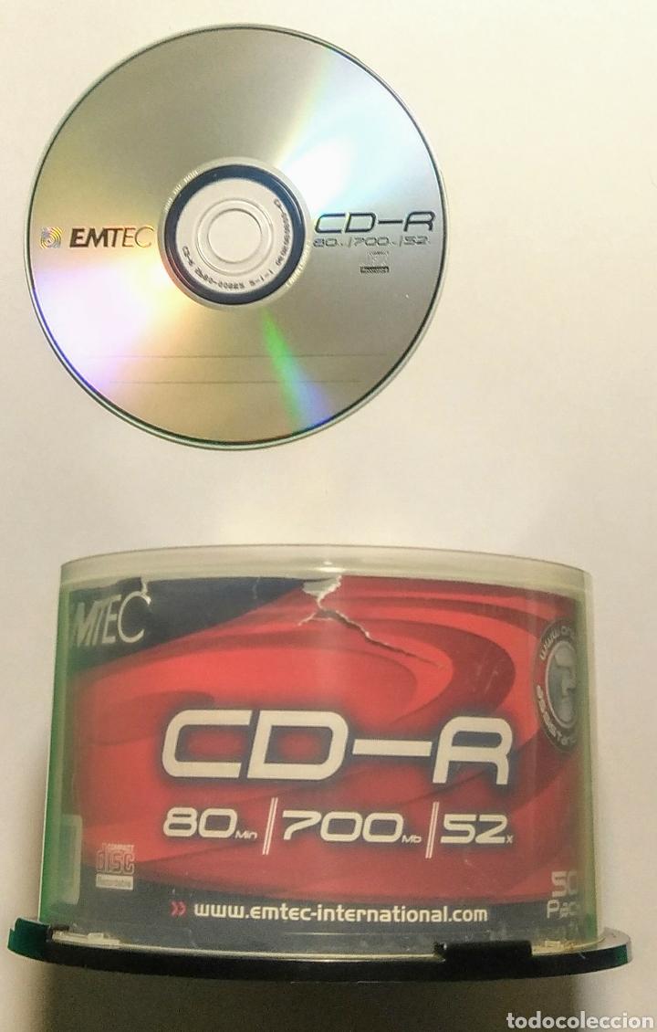 LOTE 28 CD'S GRABABLES. EMTEC. 80/700/S2. (Artículos Nuevos)