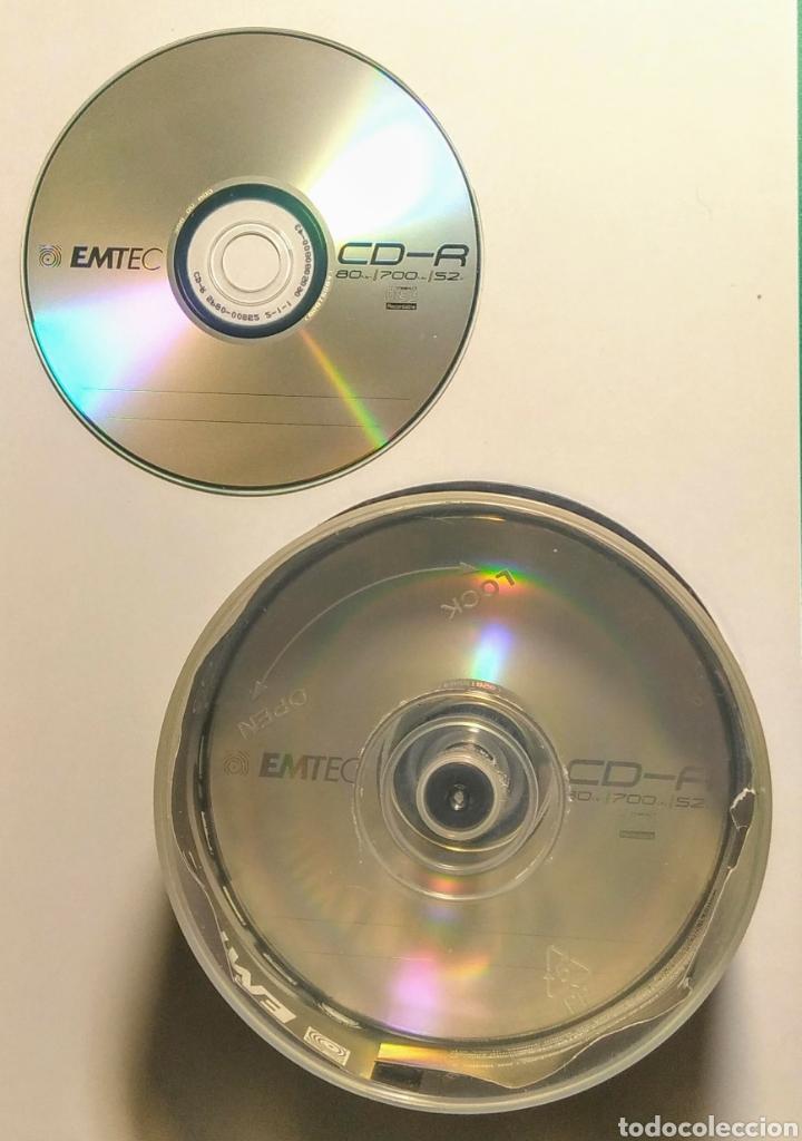 Nuevo: Lote 28 CDs grabables. Emtec. 80/700/S2. - Foto 2 - 199168860