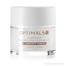 Nuevo: CREMA DE DIA EVEN OUT OPTIMALS SPF 20. Lote 199174476