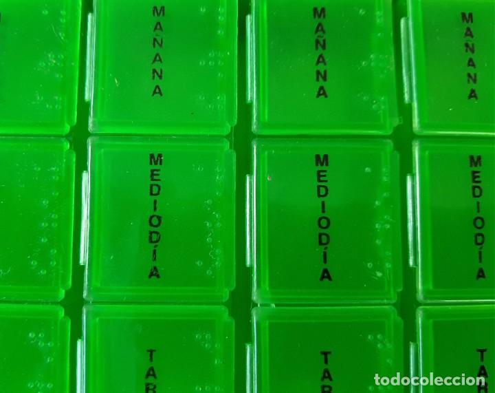 Nuevo: R 2878 caja pastillero semanal de plástico con lectura braille - Foto 2 - 199982435