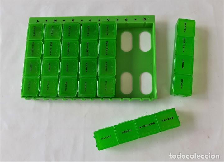 Nuevo: R 2878 caja pastillero semanal de plástico con lectura braille - Foto 3 - 199982435