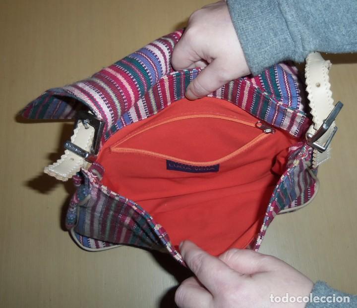 Nuevo: Bolso Loneta Multicolor LUCÍA VEGA - Foto 3 - 204192565