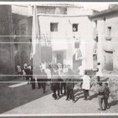 Neuf: PROCESION FIESTAS EN UN PUEBLO DE LA PROVINCIA DE CASTELLON EN 1895. Lote 204234345