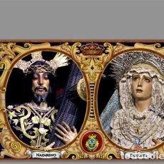Nuevo: AZULEJO 40X25 DE LOS TITULARES DE JESÚS NAZARENO DE CÁDIZ. Lote 205861456