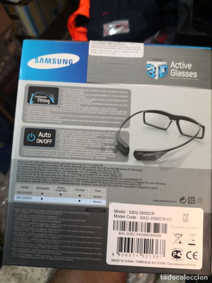 GAFAS 3D, ACTIVE GLASSES 3D SAMSUNG TV 2011 NUEVO EN CAJA (Artículos Nuevos)