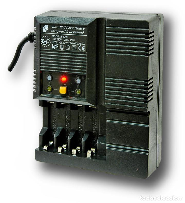 Nuevo: Cargador de baterías automático 4 pilas AA o AAA Descarga y Carga rápida - Foto 2 - 207666945