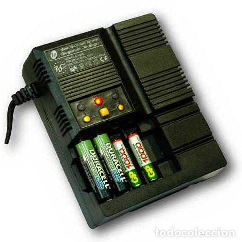 Nuevo: Cargador de baterías automático 4 pilas AA o AAA Descarga y Carga rápida - Foto 3 - 207666945