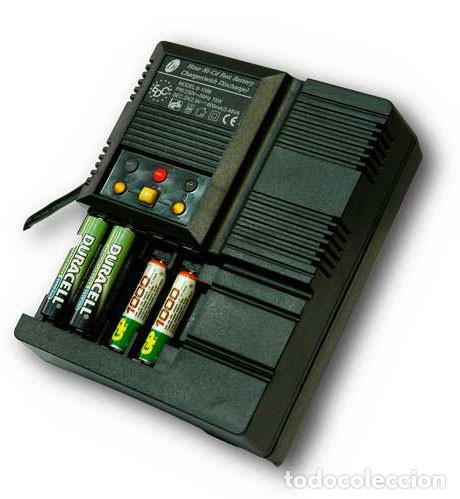 Nuevo: Cargador de baterías automático 4 pilas AA o AAA Descarga y Carga rápida - Foto 4 - 207666945