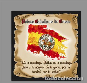 AZULEJO 10X10 CM DE LOS POBRES CABALLEROS DE CRISTO (Artículos Nuevos)