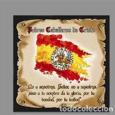 Nuevo: AZULEJO 10X10 CM DE LOS POBRES CABALLEROS DE CRISTO. Lote 214718702