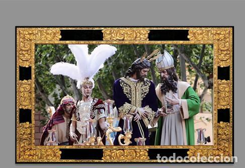 AZULEJO 20X30 DE JESÚS EN SU SOBERANO PODER ANTE CAIFÁS EN SU PASO (SAN GONZALO DE SEVILLA) (Artículos Nuevos)