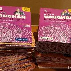 Nuevo: VAUGHAN INTENSIVE ENGLISH / EL MUNDO / AÑO 2012 / CONJUNTO DE 155 CDS DE LA COLECCIÓN / VER FOTOS.. Lote 219748885