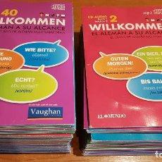 Nuevo: WILLKOMMEN / EL ALEMÁN A SU ALCANCE / EL MUNDO-2013 / CONJUNTO DE 81 CDS DE LA COLECCIÓN / VER FOTOS. Lote 219959481