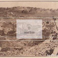 Neuf: OBRAS EN LA CONSTRUCCION DEL PANTANO DE MARIA CRISTINA ALCORA CASTELLON. Lote 221527215