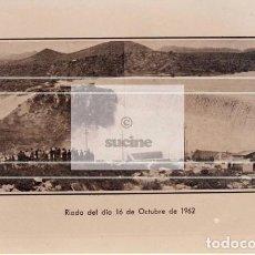 Neuf: DESBORDAMIENTO EN 1962 EN LA PRESA DEL PANTANO DE MARIA CRISTINA ALCORA CASTELLON. Lote 221527512