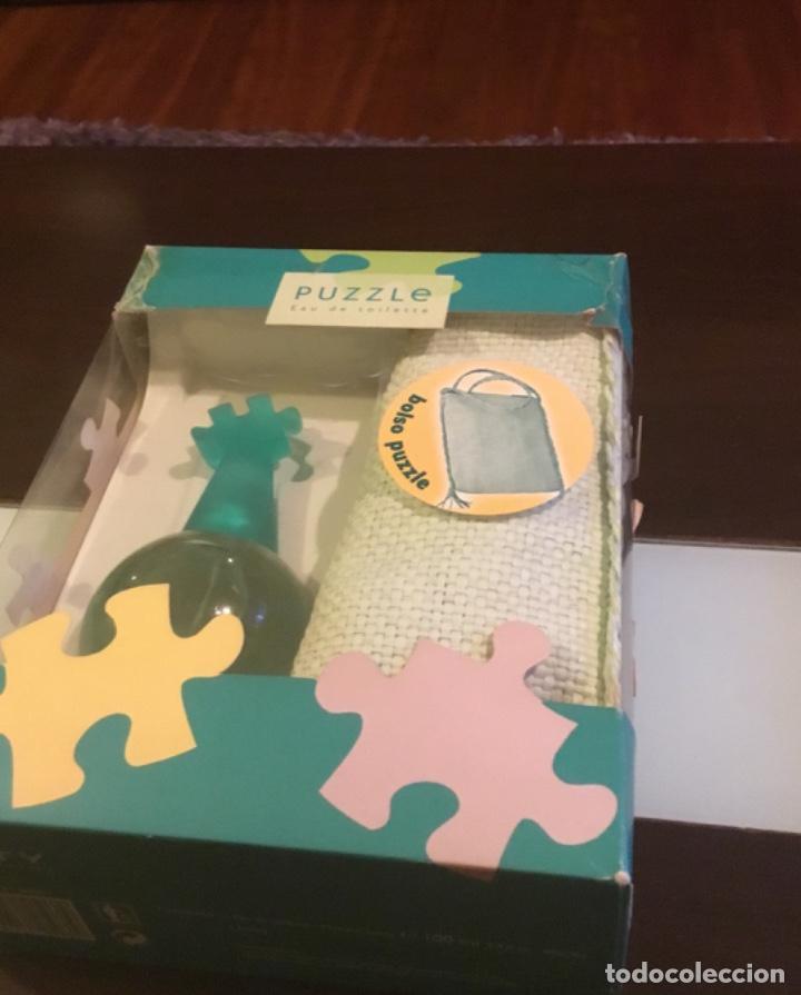 Nuevo: Atención coleccionista,colonia Puzzle de coty en su blister y con bolso de regalo - Foto 2 - 223423905