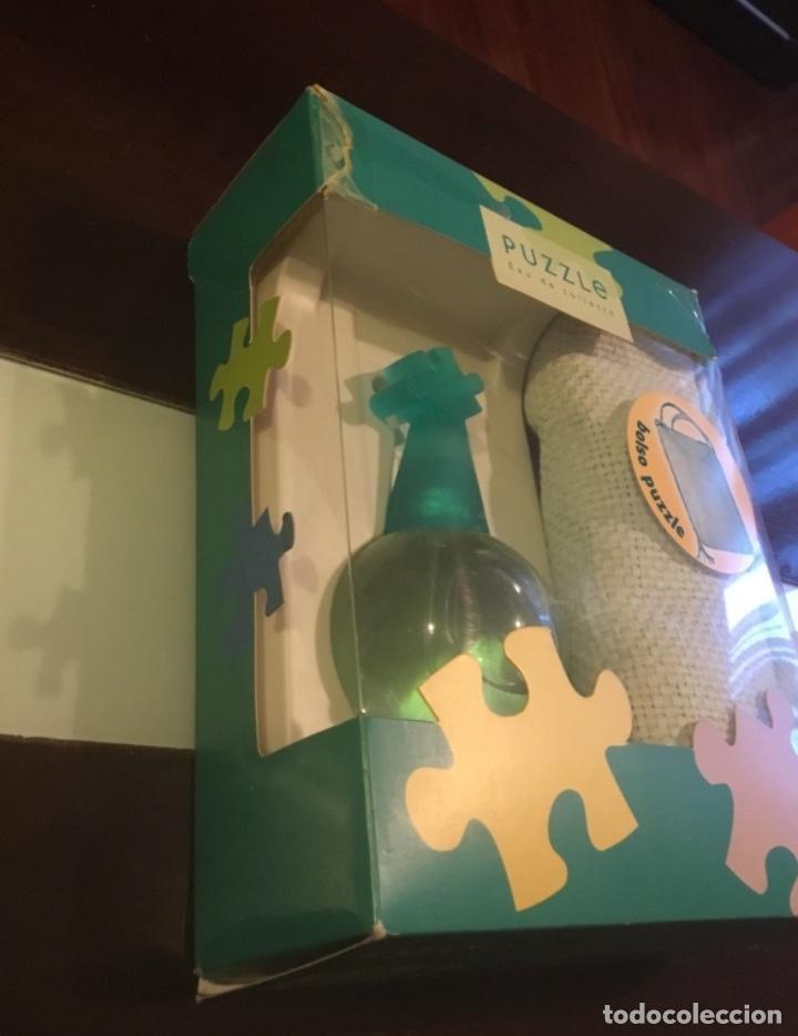 Nuevo: Atención coleccionista,colonia Puzzle de coty en su blister y con bolso de regalo - Foto 4 - 223423905