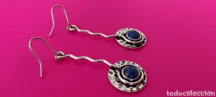 Nuevo: Preciosos pendientes artesanales mexicanos. Lapislázuli - Foto 3 - 235958420