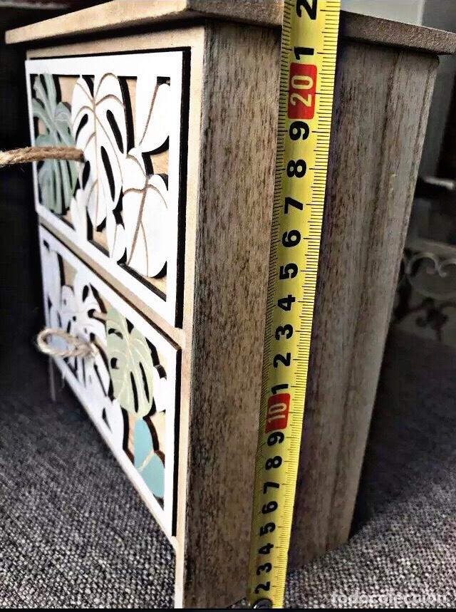 Nuevo: Pequeño Mueble Madera con dos cajones. Ideal para guardar té - Foto 3 - 238878150