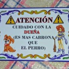 Nuovo: AZULEJO DE ATENCIÓN. Lote 253957875