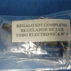 Nuevo: REGULADOR DE LUZ - KIT COMPLETO - NUEVO. Lote 254271840