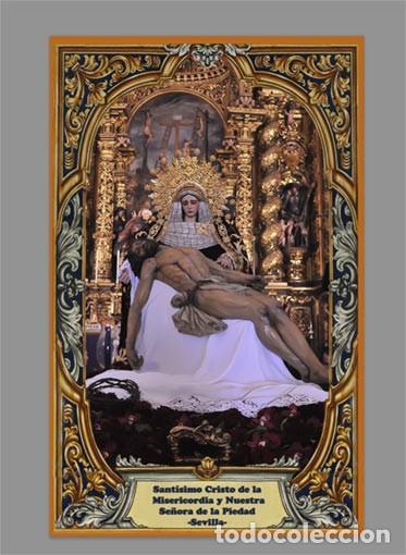AZULEJO 40X25 DEL SANTÍSIMO CRISTO DE LA MISERICORDIA Y NUESTRA SEÑORA DE LA PIEDAD DE SEVILLA (Artículos Nuevos)