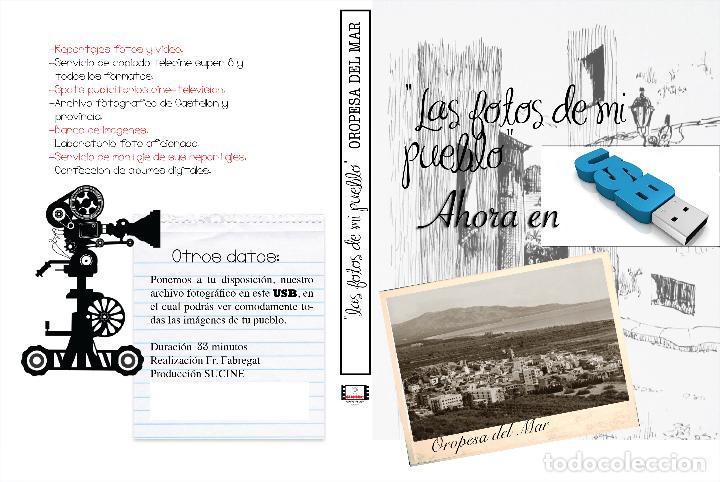 COLECCION FOTOGRAFICA DE LAS FOTOS DE MI PUEBLO EN USB OROPESA DEL MAR CASTELLON (Artículos Nuevos)
