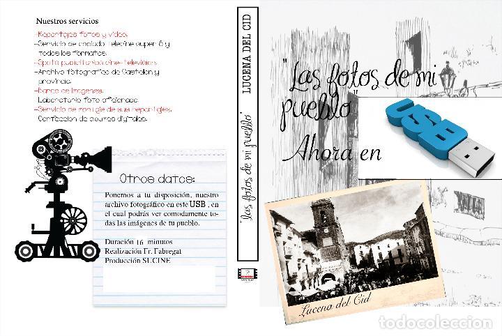 COLECCION FOTOGRAFICA DE LAS FOTOS DE MI PUEBLO LUCENA DEL CID CASTELLON EN USB (Artículos Nuevos)