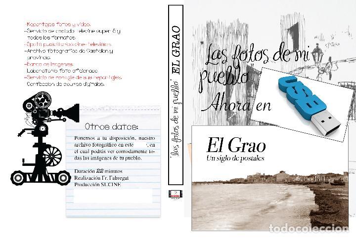 COLECCION FOTOGRAFICA DE LAS FOTOS DE MI PUEBLO EL GRAO DE CASTELLON EN USB (Artículos Nuevos)