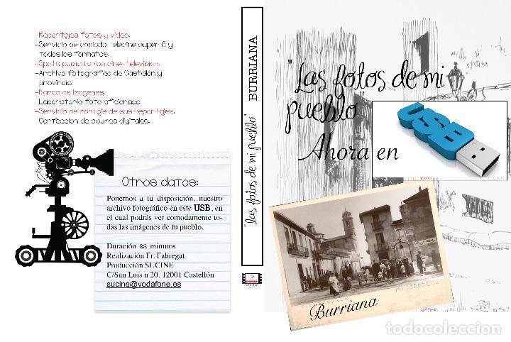 COLECCION FOTOGRAFICA DE LAS FOTOS DE MI PUEBLO BURRIANA CASTELLON EN USB (Artículos Nuevos)