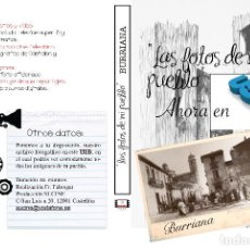 Nuevo: COLECCION FOTOGRAFICA DE LAS FOTOS DE MI PUEBLO BURRIANA CASTELLON EN USB. Lote 269483873