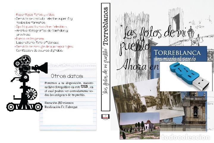 COLECCION FOTOGRAFICA DE LAS FOTOS DE MI PUEBLO TORREBLANCA CASTELLON EN USB (Artículos Nuevos)