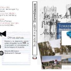 Nuevo: COLECCION FOTOGRAFICA DE LAS FOTOS DE MI PUEBLO TORREBLANCA CASTELLON EN USB. Lote 269484118