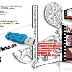 Nuevo: IMAGENES PARA EL RECUERDO AHORA EN USB ENTREGA DE LA BANDERA DE ESPAÑA AL REGIMIENTO TETUAN XIV. Lote 269972143