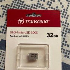 Nuevo: MEMORIA MICROSD 32GB TRANSCEND 300S. Lote 269984738
