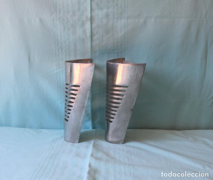 Nuevo: Pareja de apliques de pared de aluminio. Pair of aluminium wall lights. - Foto 2 - 274617763