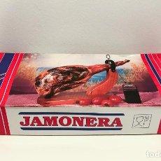 Nuevo: JAMONERA DE MADERA Y METAL - NUEVO A ESTRENAR. Lote 274646173