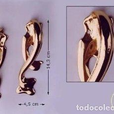 Nuevo: TIRADOR MUEBLE HOJAS / DERECHA. 105077 DERECHA. Lote 279367693