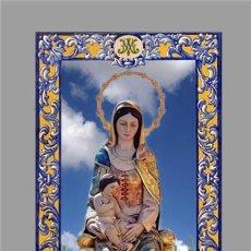 Nuevo: AZULEJO 20X30 CTM DE NUESTRA SEÑORA DEL MAR DE ISLA CRISTINA (HUELVA). Lote 279375318