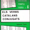Otras Lenguas Locales: ELS VERBS CATALANS CONJUGATS-JOAN BAPTISTA XURIGUERA-EDITORIAL CLARET-NUEVO SIN ESTRENAR. Lote 53273034