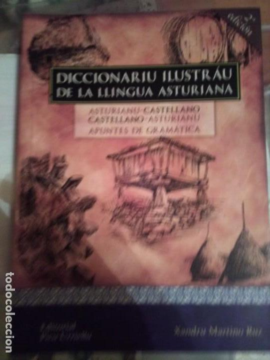 DICCIONARIU ILUSTRÁU DE LA LLINGUA ASTURIANA (Libros Nuevos - Idiomas - Otras lenguas locales)