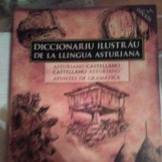 Otras Lenguas Locales: DICCIONARIU ILUSTRÁU DE LA LLINGUA ASTURIANA. Lote 132940702