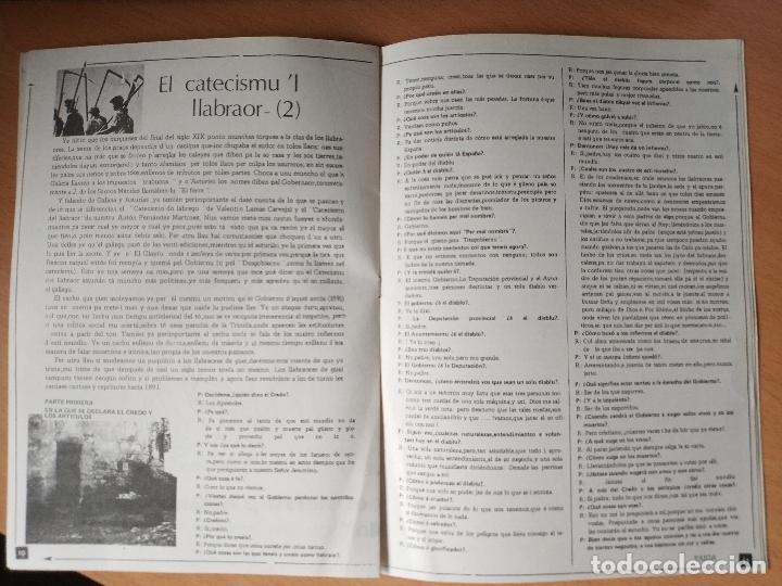 Otras Lenguas Locales: REVISTA EL GLAYIU FUEYES UNIVERSITARIES ASTURIANU ASTURIANO XINERU 1977 ASTURIAS - Foto 6 - 181580680
